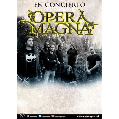 Poster firmado Opera Magna