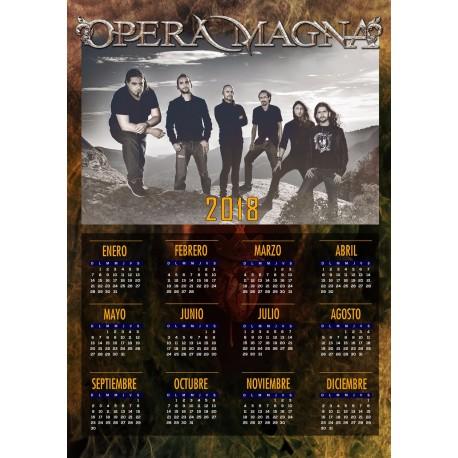 Calendario 2018 Opera Magna
