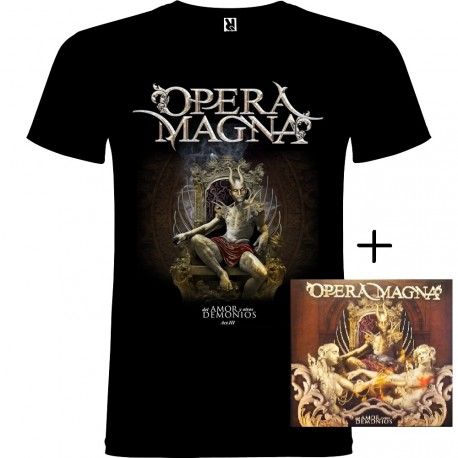 Pack Camiseta y CD Trilogia Del Amor y Otros Demonios
