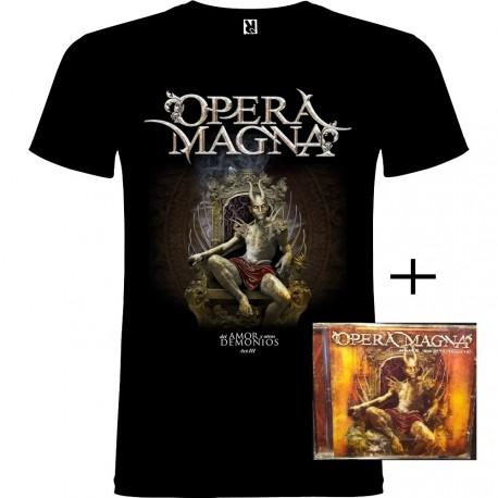 Pack camiseta y CD Del Amor y Otros Demonios Acto III