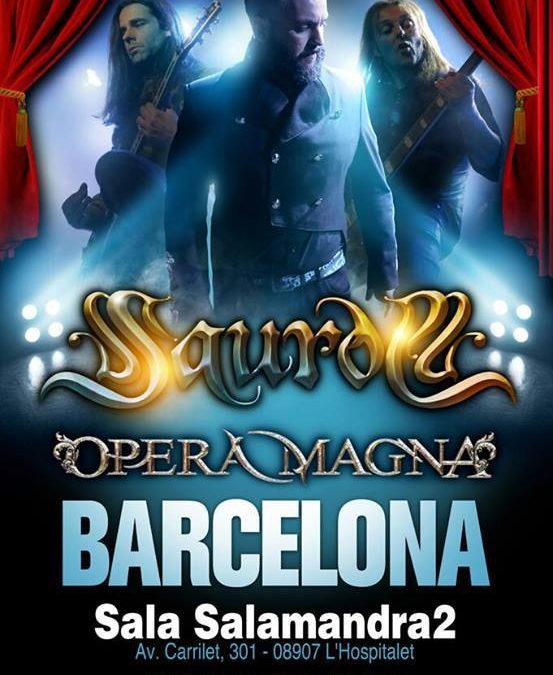 Opera Magna Junto a Saurom en Barcelona