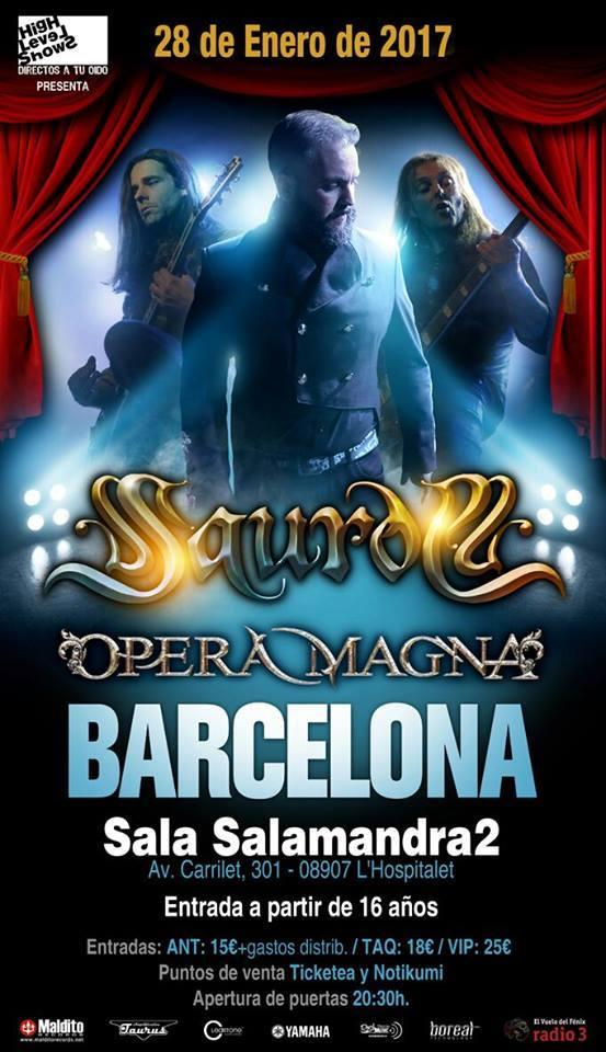 poster concierto barcelona